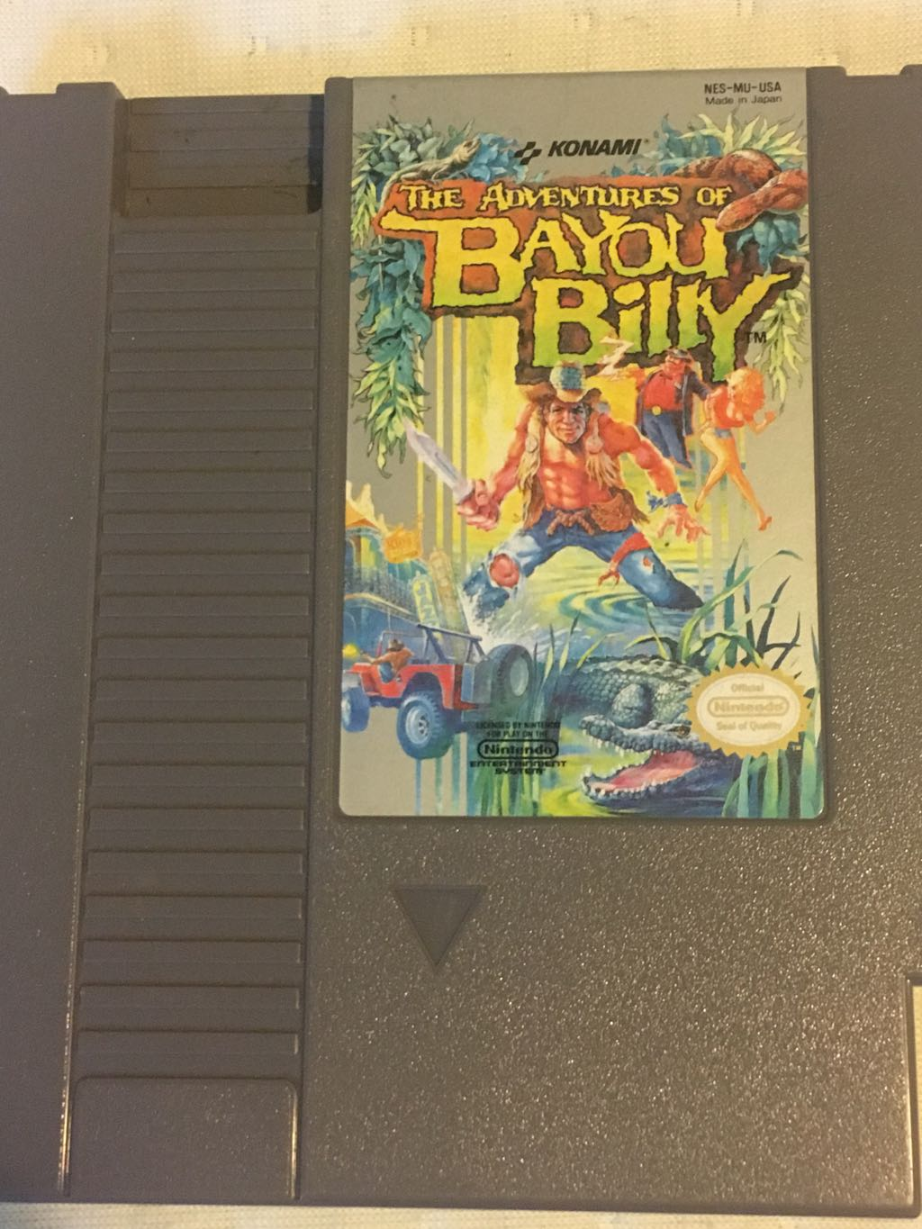 Nes The Adventures Of Bayou Billy